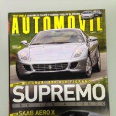 Coches: AUTOMOVIL 341,POSTER,FERRARI 599 GTB FIORANO,PORSCHE 911 TURBO,SAAB AERO X,AUDI A6 ALLROAD,. Lote 113108375