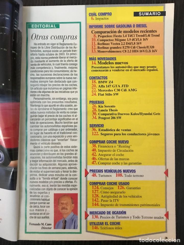 Coches: Guía Útil Coche Actual, nº 121 Diciembre 2002, ¿Diesel o gasolina? - Foto 2 - 113180559