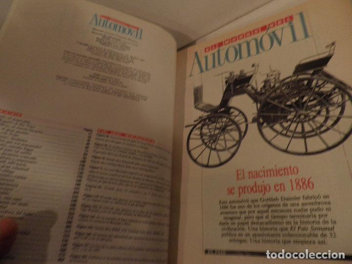 Coches: EL MUNDO DEL AUTOMÓVIL. Coleccionable de El País. Dirección de Ignacio Lewin. (1989) - Foto 3 - 114129187