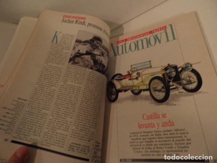 Coches: EL MUNDO DEL AUTOMÓVIL. Coleccionable de El País. Dirección de Ignacio Lewin. (1989) - Foto 6 - 114129187
