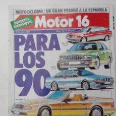 Autos - REVISTA MOTOR 16 - Nº 133 - FOTO SUMARIO - FIESTA 1.4S - UNO 60 SL - VW POLO CL - MG METRO 1.3 - 205 - 114146223