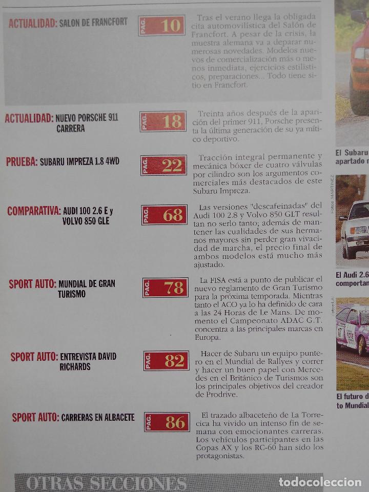 Coches: REVISTA AUTOPISTA Nº 1782 - FOTO SUMARIO - subaru impreza 1.8 4wd - audi 100 2.6 e - volvo 850 gle - Foto 2 - 114280347