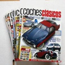Coches: 10 PRIMEROS NUMEROS DE LA REVISTA COCHES CLASICOS,NUMEROS 1,2,3,4,5,6,7,8,9,Y 10.. Lote 114345403