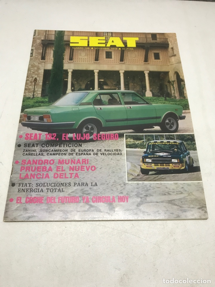 Coches: REVISTA SEAT. 1979 - Foto 1 - 115036683