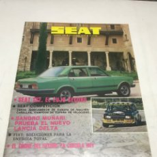 Coches: REVISTA SEAT. 1979. Lote 115036683