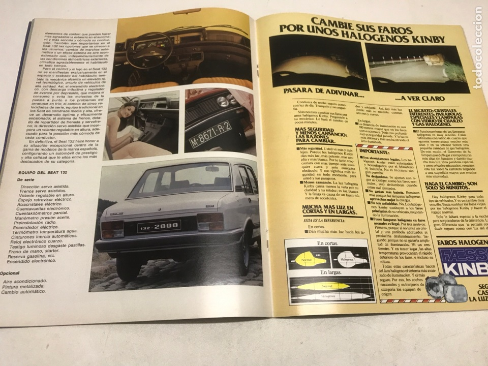 Coches: REVISTA SEAT. 1979 - Foto 2 - 115036683