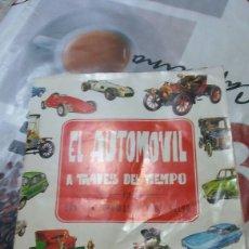 Coches: ALBUM EL AUTOMOVIL A TRAVES DEL TIEMPO. Lote 115363584