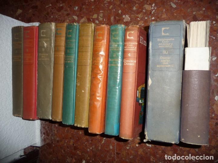 Coches: CURSO,ENCICLOPEDIA CEAC. VER IMAGEN DE CONTENIDO, ALGO SUCIETES. CLASICOS - Foto 17 - 115506895