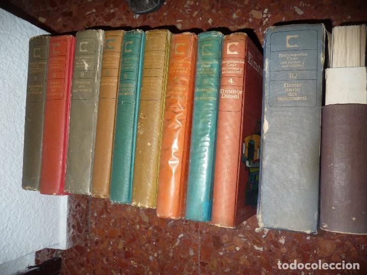 Coches: CURSO,ENCICLOPEDIA CEAC. VER IMAGEN DE CONTENIDO, ALGO SUCIETES. CLASICOS - Foto 20 - 115506895