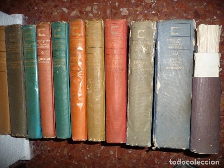 Coches: CURSO,ENCICLOPEDIA CEAC. VER IMAGEN DE CONTENIDO, ALGO SUCIETES. CLASICOS - Foto 21 - 115506895