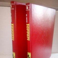 Coches: FERRARI-. EL MITO -TOMOS 1 Y 2 + DE 400PAG- PLANETA- 1999. Lote 115594251