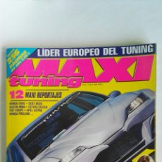 Coches: REVISTA COCHES MAXI TUNING N° 45 OPEL VECTRA. Lote 115620475
