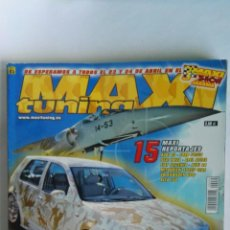 Coches: REVISTA COCHES MAXI TUNING N° 85 GOLF DESERT STORM POSTER. Lote 115622611