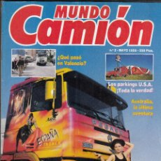 Coches: REVISTA MUNDO CAMION Nº 2 AÑO 1989. . Lote 115919663