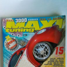 Coches: MAXI TUNING N° 79 VOLKSWAGEN NEW BEETLE AUDI S3. Lote 115994823