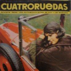 Coches: REVISTA CUATRORUEDAS NUM 15 FIAT 500 850 N Y SUPER - SEAT 850 SPIDER - 850 COUPE - . Lote 116181879