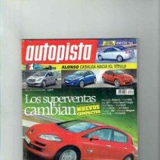 Coches: REVISTA AUTOPISTA Nº 2447- VW EOS TDI. Lote 116285127