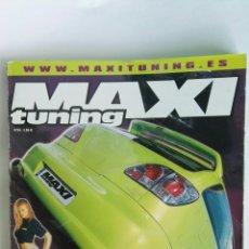 Coches: REVISTA DE COCHES MAXI TUNING N° 54 SEAT IBIZA GT TDI. Lote 117082986