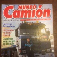Coches: REVISTA MUNDO CAMIÓN N. 21 DE 1991 PEGASO TRONER 1237. Lote 117347896