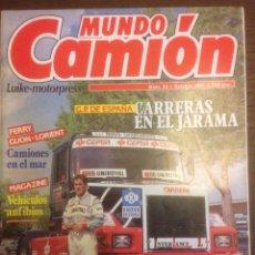 Coches: REVISTA MUNDO CAMIÓN N. 23 DE 1991 PEGASO JARAMA. Lote 136736341
