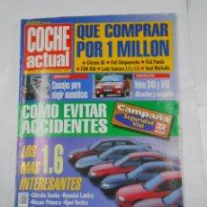 Coches: REVISTA COCHE ACTUAL Nº 41. DEL 26 FEBRERO AL 3 MARZO 1996. VOLVO S40 Y V40. TDKR52. Lote 117359271