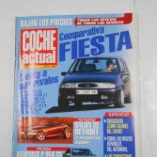 Coches: REVISTA COCHE ACTUAL Nº 404. DEL 15 AL 21 ENERO 1996. COMPARATIVA FORD FIESTA. TDKR52. Lote 117359403