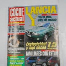 Coches: REVISTA COCHE ACTUAL Nº 406. DEL 29 ENERO AL 4 FEBRERO 1996. LANCIA. FAMILIARES. TDKR52. Lote 117359483