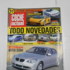 Coches: REVISTA COCHE ACTUAL Nº 794. DEL 3 AL 9 DE JULIO DE 2003. NUEVO BMW 530D. TDKR52. Lote 117359987