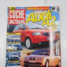 Coches: REVISTA COCHE ACTUAL Nº 624. DEL 30 MARZO AL 5 ABRIL 2000. AUDI A2. BMW SERIE 3 CABRIO TDKR52. Lote 117360239
