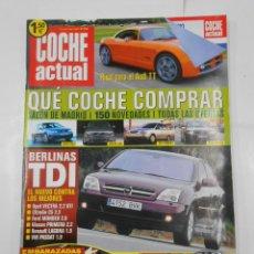 Coches: REVISTA COCHE ACTUAL Nº 736. DEL 23 AL 29 MAYO 2002. BERLINAS TDI. FIAT STILO 1.8. TDKR52. Lote 117360295