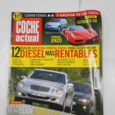 Coches: REVISTA COCHE ACTUAL Nº 746. DEL 1 AL 7 AGOSTO DE 2002. FERRARI ENZO. CITROEN C8 TDKR52. Lote 117360415