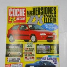 Coches: REVISTA COCHE ACTUAL Nº 232. DEL 28 SEPTIEMBRE AL 4 OCTUBRE 1992. CITROEN ZX. TDKR53. Lote 125146427