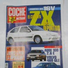 Coches: REVISTA COCHE ACTUAL Nº 251. DEL 8 AL 14 FEBRERO 1993. CITROEN ZX. TDKR53. Lote 125146510