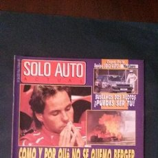 Coches: SOLO AUTO ACTUAL Nº 56-1989. Lote 117737815