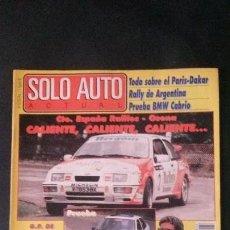 Coches: SOLO AUTO ACTUAL Nº 63-1989. Lote 117739255