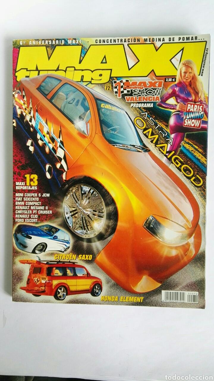 REVISTA MAXI TUNING N° 72 ASTRA (Coches y Motocicletas Antiguas y Clásicas - Revistas de Coches)