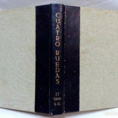 Coches: REVISTA CUATRORUEDAS, AÑO 1966. SEGUNDO SEMESTRE. 6 REVISTAS MAS VOLUMEN ESPECIAL PEGASO.. Lote 118151307