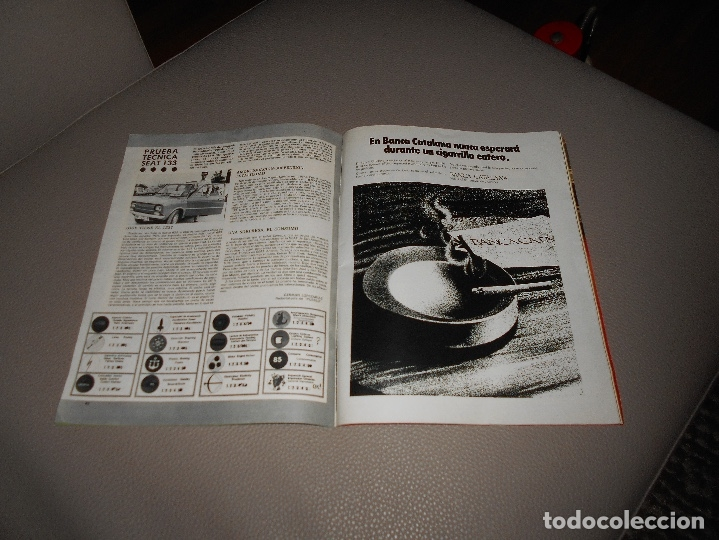 Coches: REVISTA SEAT Nº 88 JUNIO 1974 SEAT 133 CON CARTEL MUY RARA - Foto 6 - 118400619