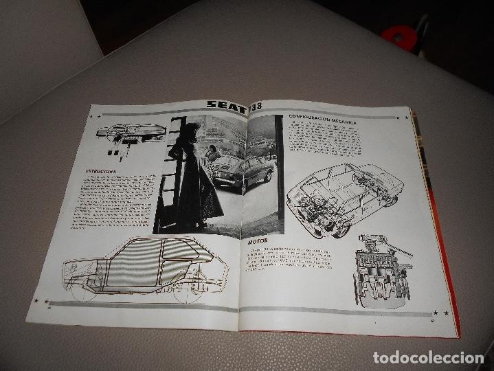 Coches: REVISTA SEAT Nº 88 JUNIO 1974 SEAT 133 CON CARTEL MUY RARA - Foto 7 - 118400619