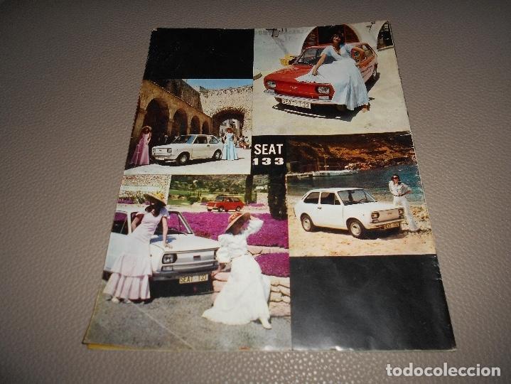 Coches: REVISTA SEAT Nº 88 JUNIO 1974 SEAT 133 CON CARTEL MUY RARA - Foto 8 - 118400619