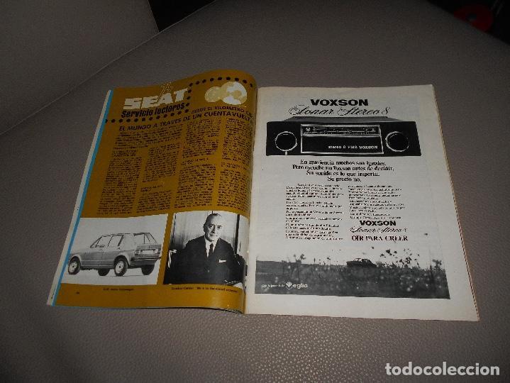 Coches: REVISTA SEAT Nº 88 JUNIO 1974 SEAT 133 CON CARTEL MUY RARA - Foto 4 - 118400619