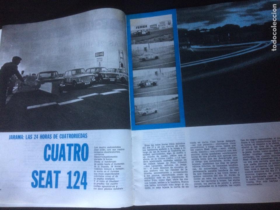 Coches: Revista cuatroruedas de diciembre 1970 Seat 124 - Foto 2 - 118458387