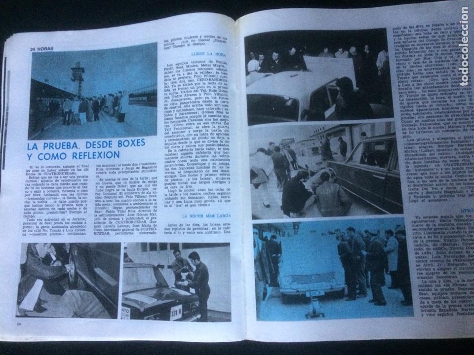 Coches: Revista cuatroruedas de diciembre 1970 Seat 124 - Foto 3 - 118458387