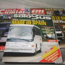 Carros: 3 REVISTAS AUTOBUS Y CAMION.. Lote 118718059