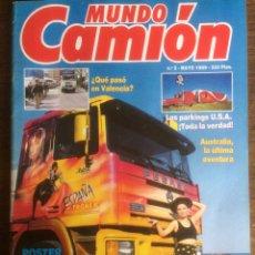 Coches: REVISTA MUNDO CAMIÓN NÚMERO 2 DE 1989 PEGASO. Lote 118994340