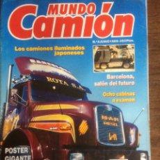 Coches: REVISTA MUNDO CAMIÓN NÚMERO 3 DE 1989 PEGASO. Lote 137299880