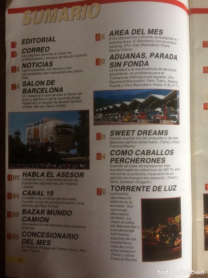 Coches: Revista mundo camión número 3 de 1989 pegaso - Foto 2 - 137299880