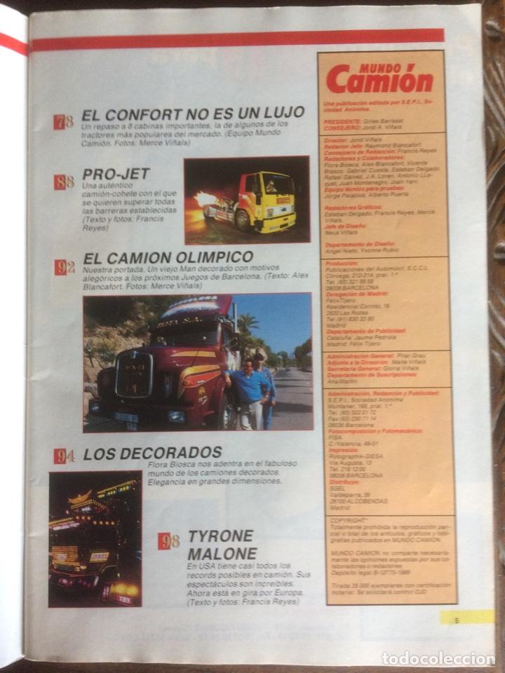 Coches: Revista mundo camión número 3 de 1989 pegaso - Foto 3 - 137299880