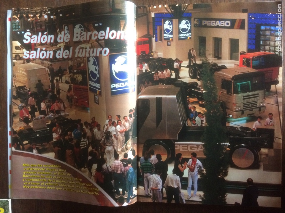 Coches: Revista mundo camión número 3 de 1989 pegaso - Foto 4 - 137299880