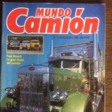 Coches: REVISTA MUNDO CAMIÓN NÚMERO 4 DE 1989. Lote 137299908